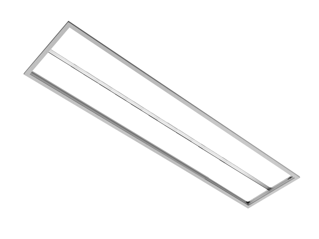 Frame for surface installation RECTANGLE (White)