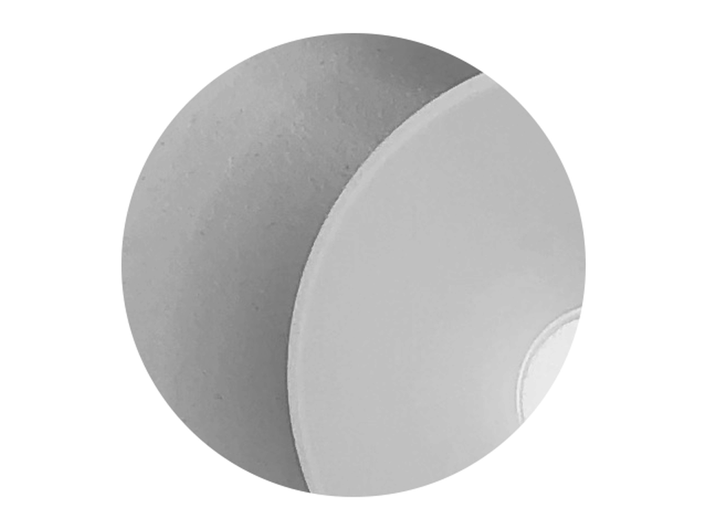 Reflector finish (Matt white)