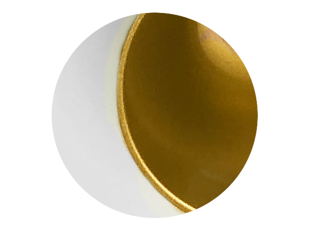 Reflector finish (Satin gold)