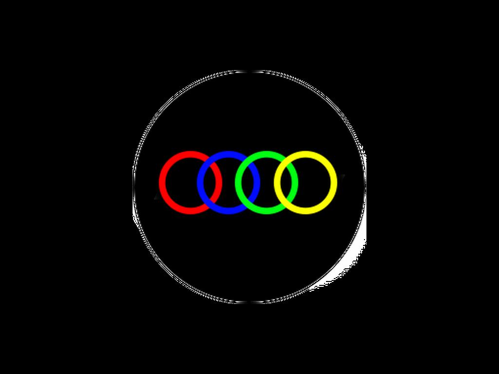 CUSTOM - 4 colours - Glass gobo - E Size