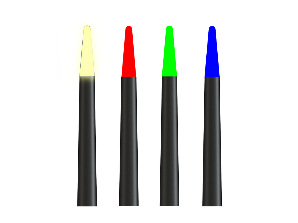 Illuminated Beacon-Tip (White CCT or Single Colour)
