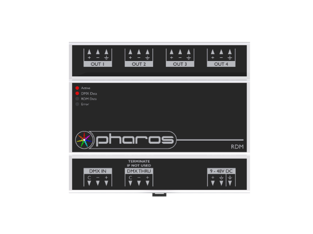 Pharos - POE connect