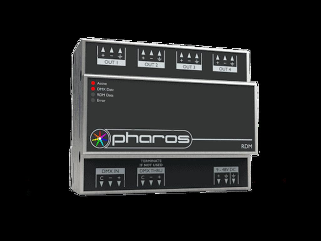 Pharos - RDM DMX splitter
