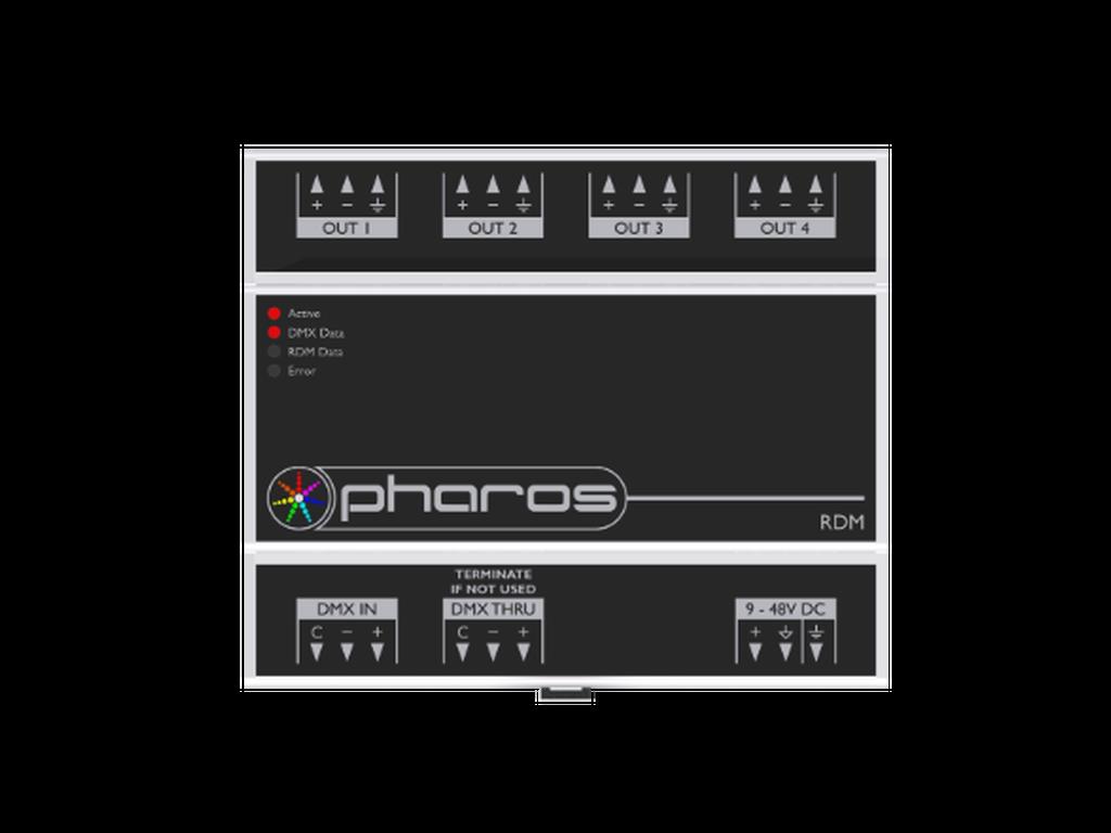 Pharos - RDM DMX splitters