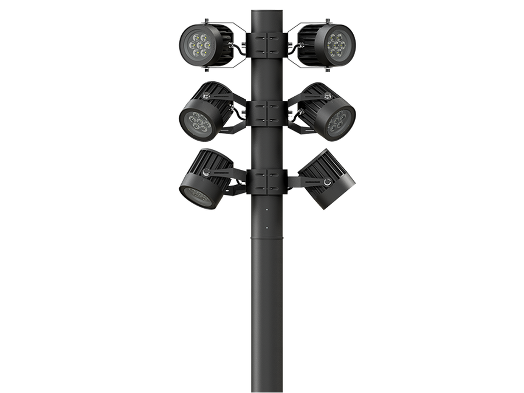 Floodlights, projectors and column projectors