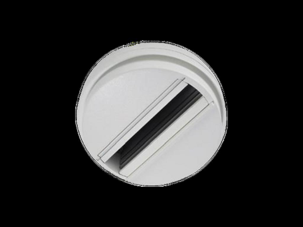 Surface mounted track adapter - Black DA