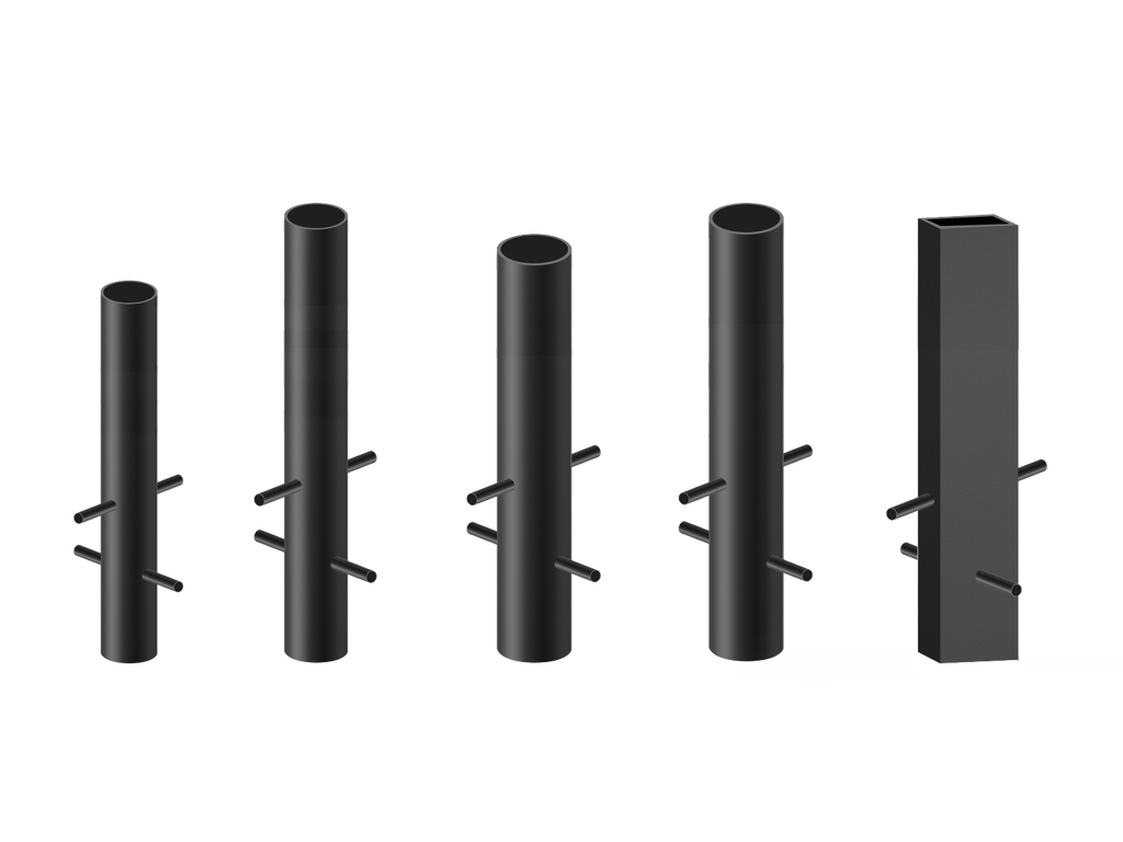 Security bollard structures