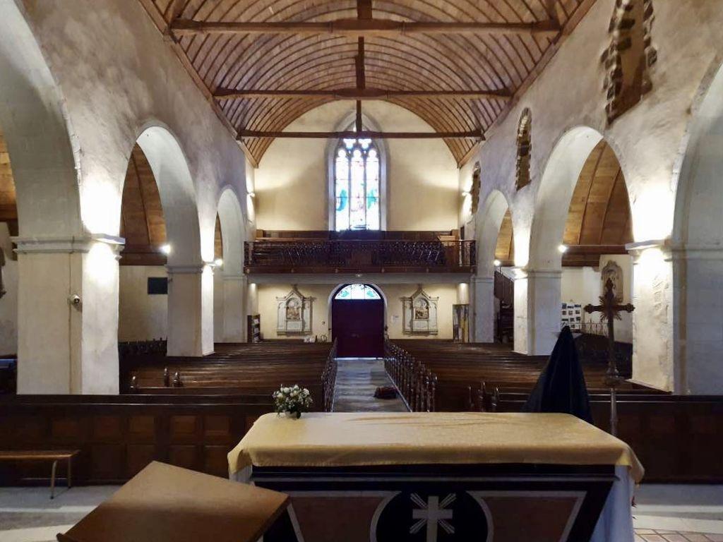 Eglise Quelaines-Saint-Gault