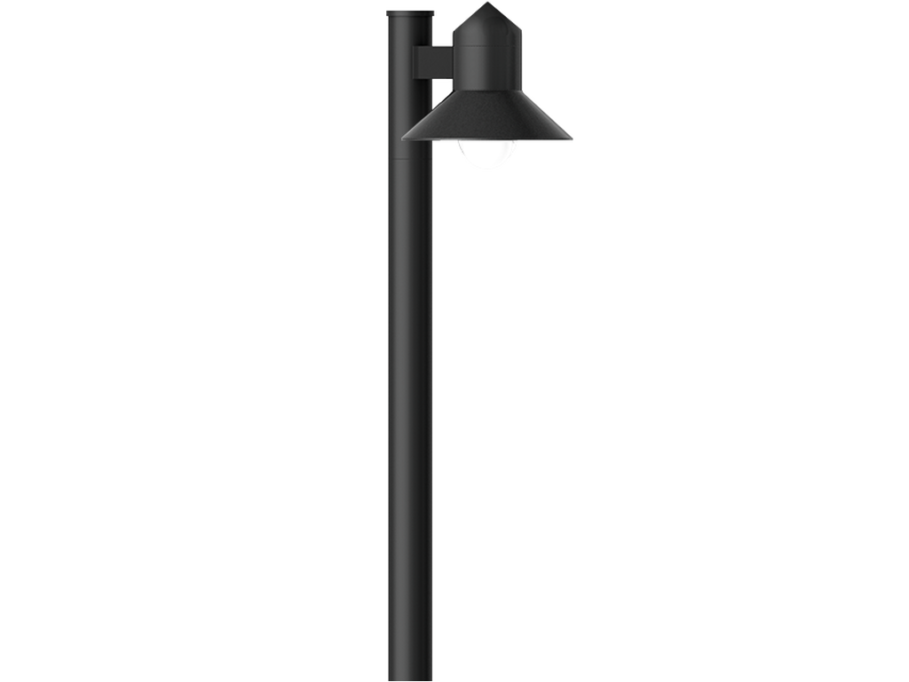 Post top luminaires
