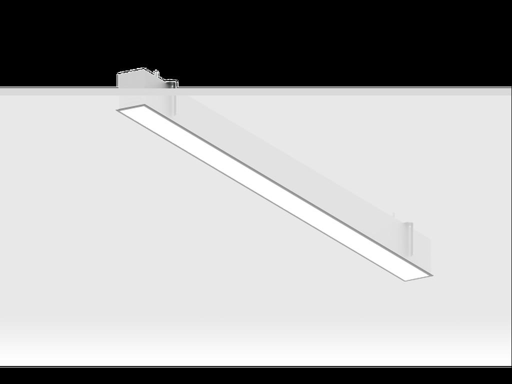 Recessed ceiling luminaires
