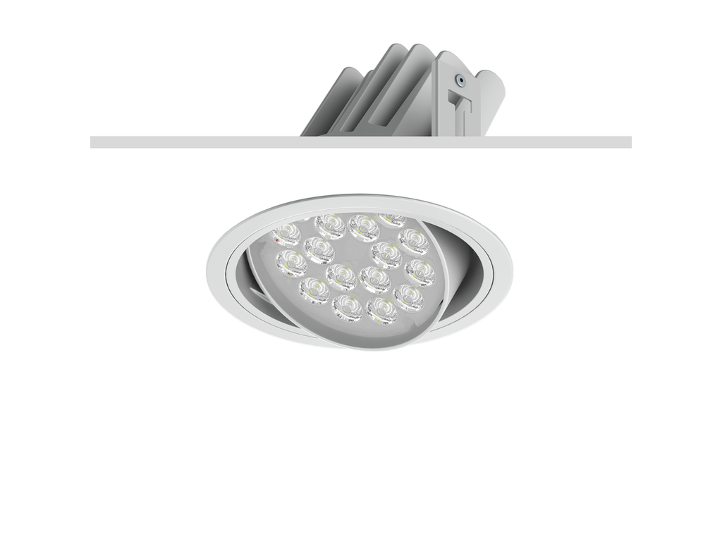 Indbygnings downlights
