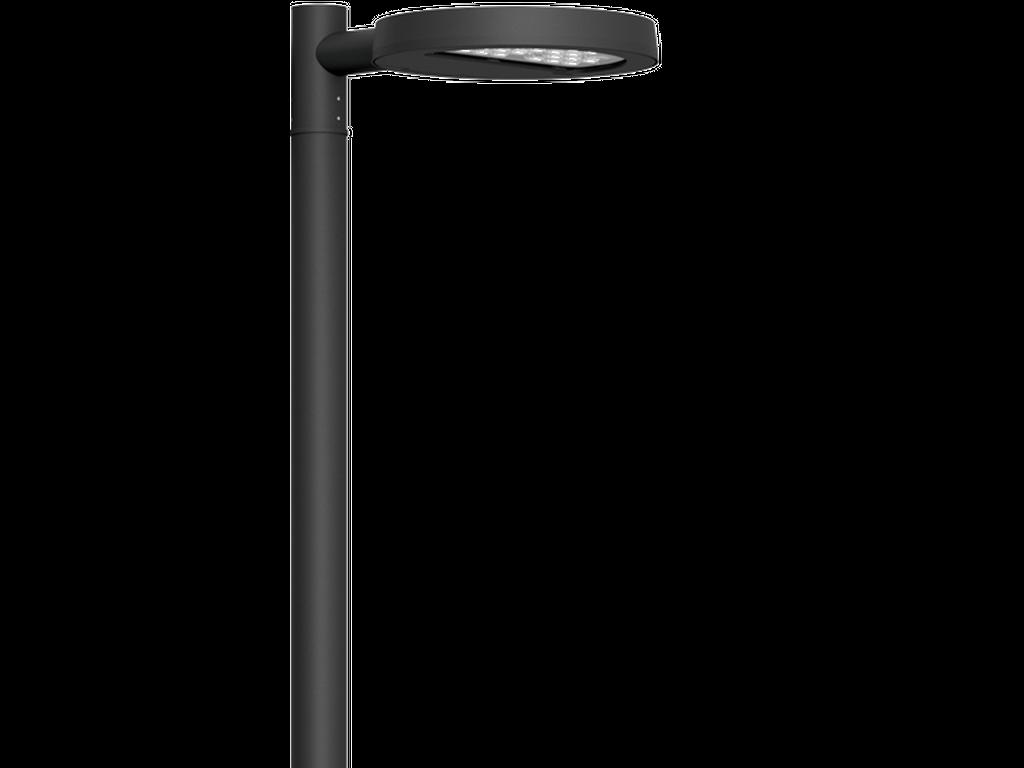 Straßen- und Flächenbeleuchtung mit Bewegungssensoren