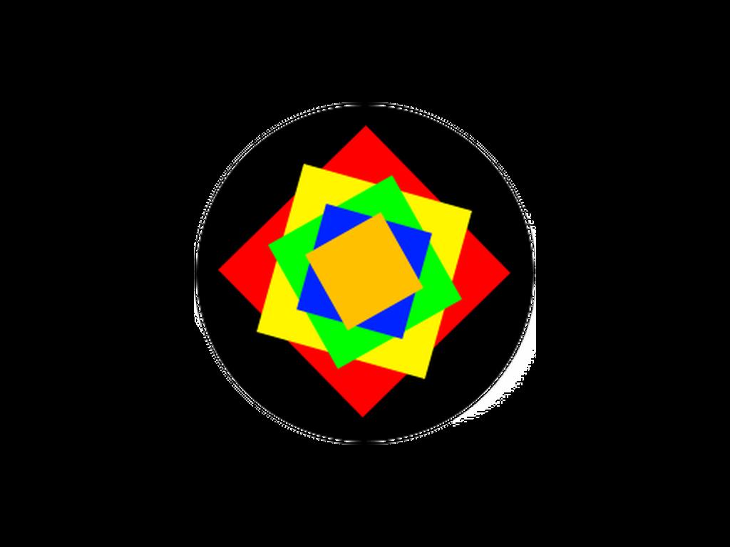 CUSTOM - 5 colours - Glass gobo - E Size