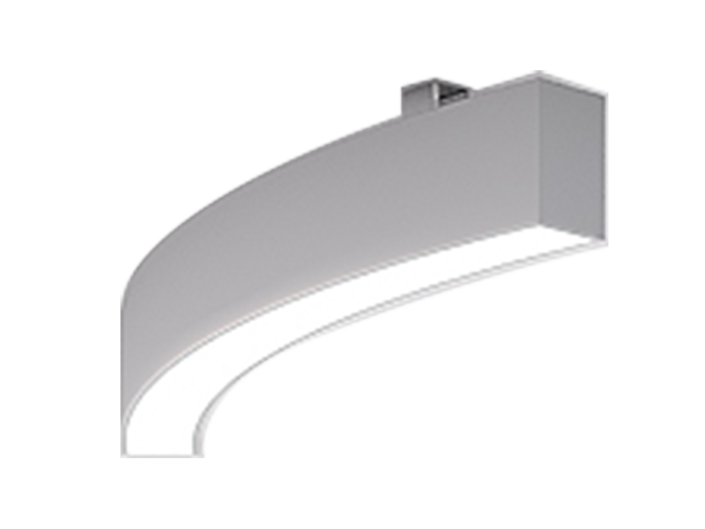 Surface ceiling luminaires