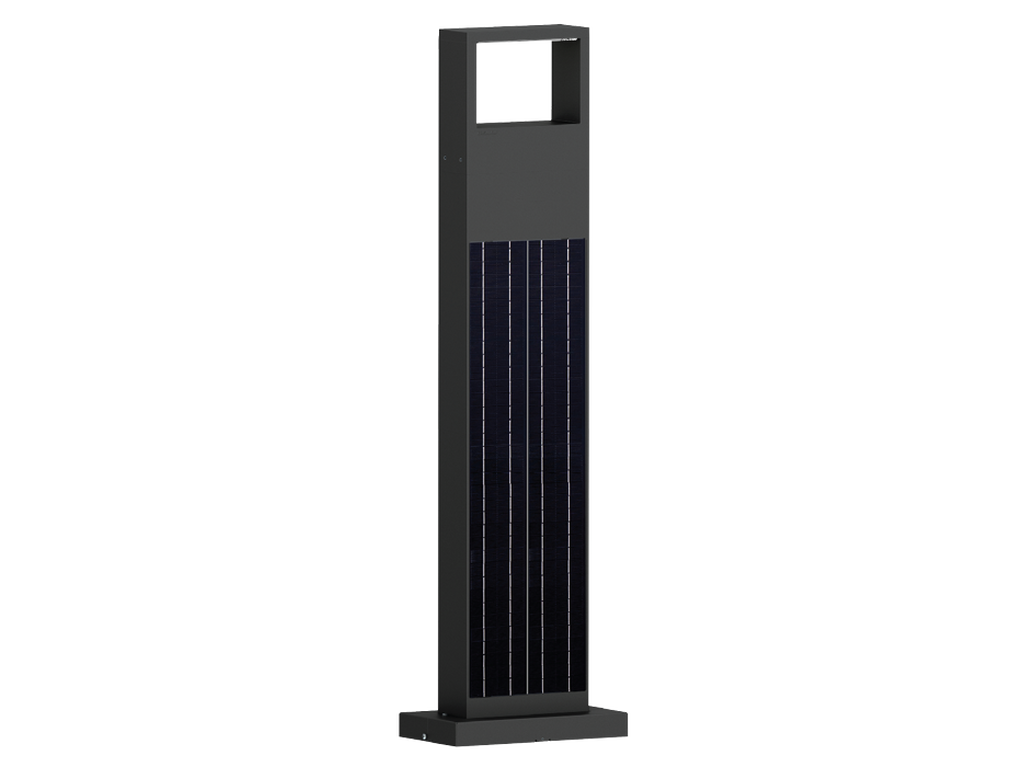 Solar integrated luminaires