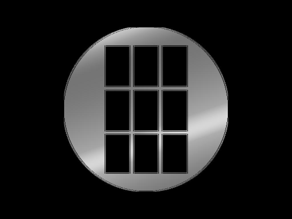 Window - Metal gobo - M Size
