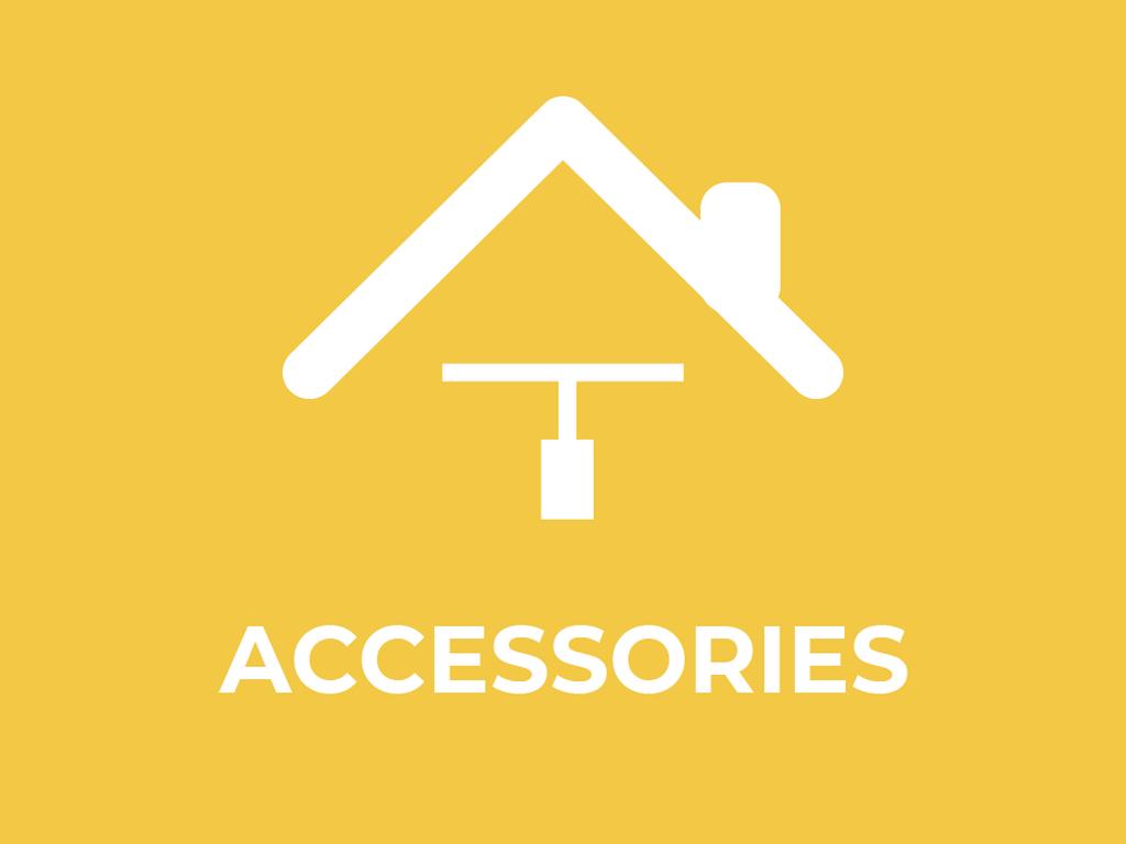 Indoor luminaire accessories