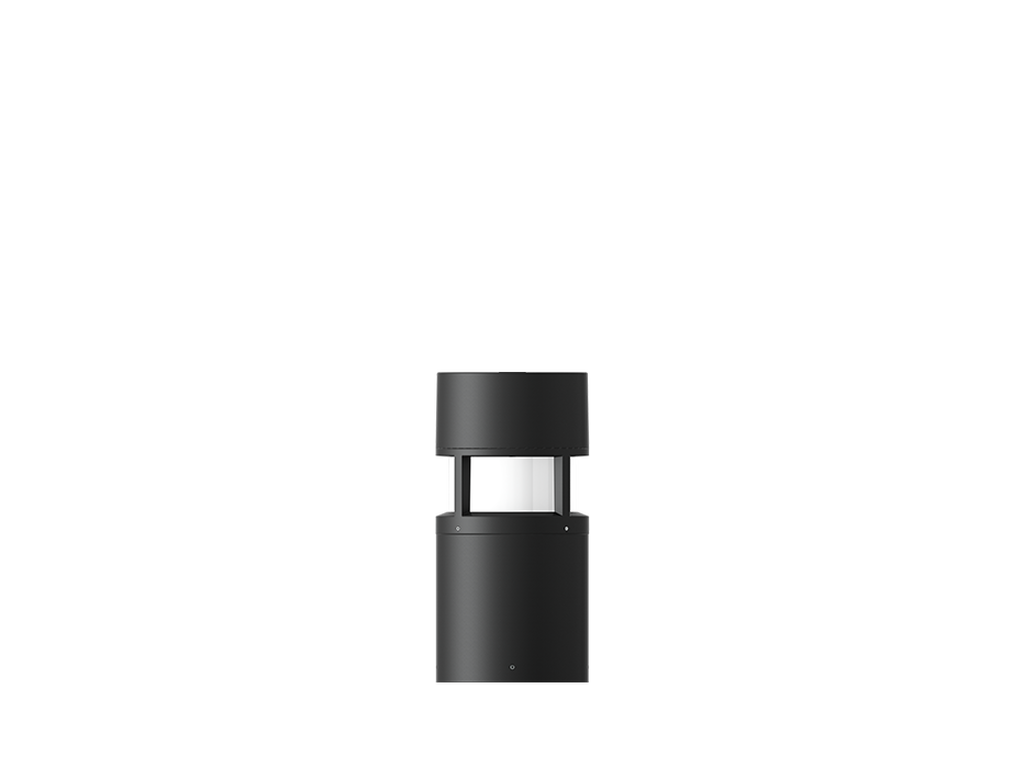 Bolardos con sensor de movimiento de microondas