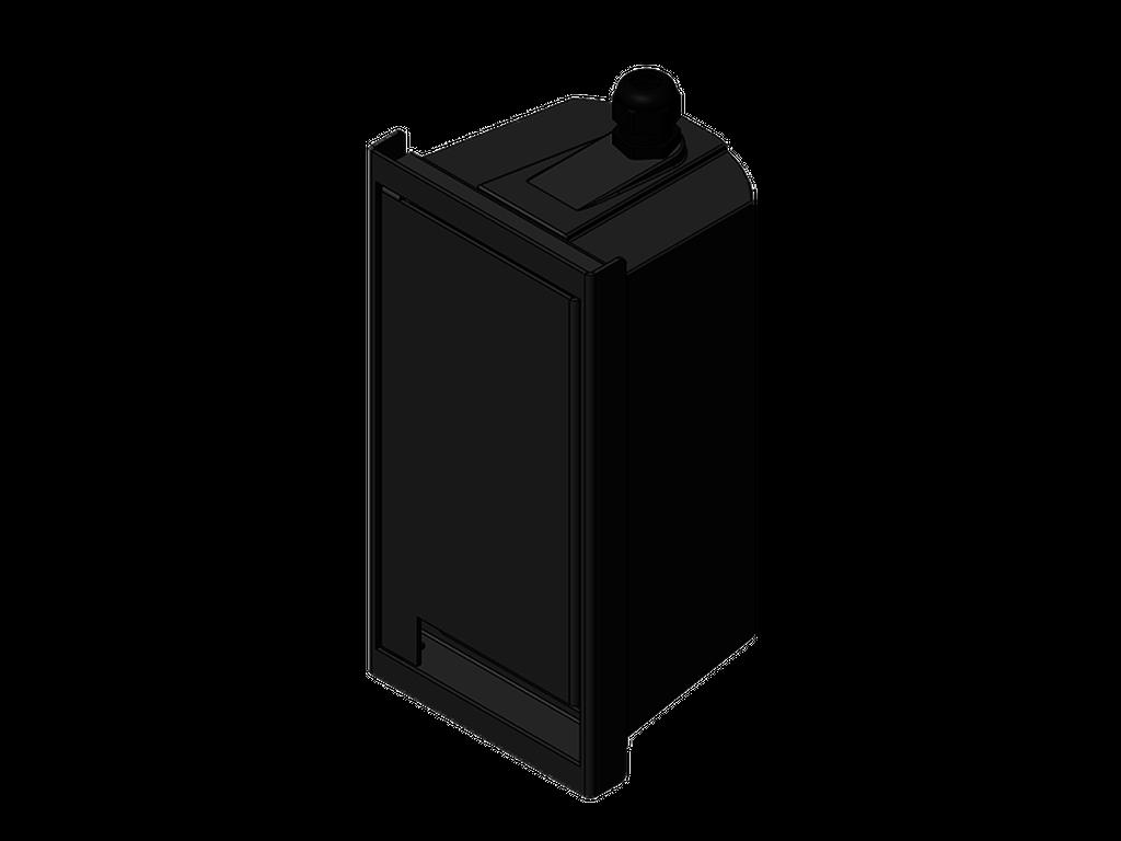 Square power plug