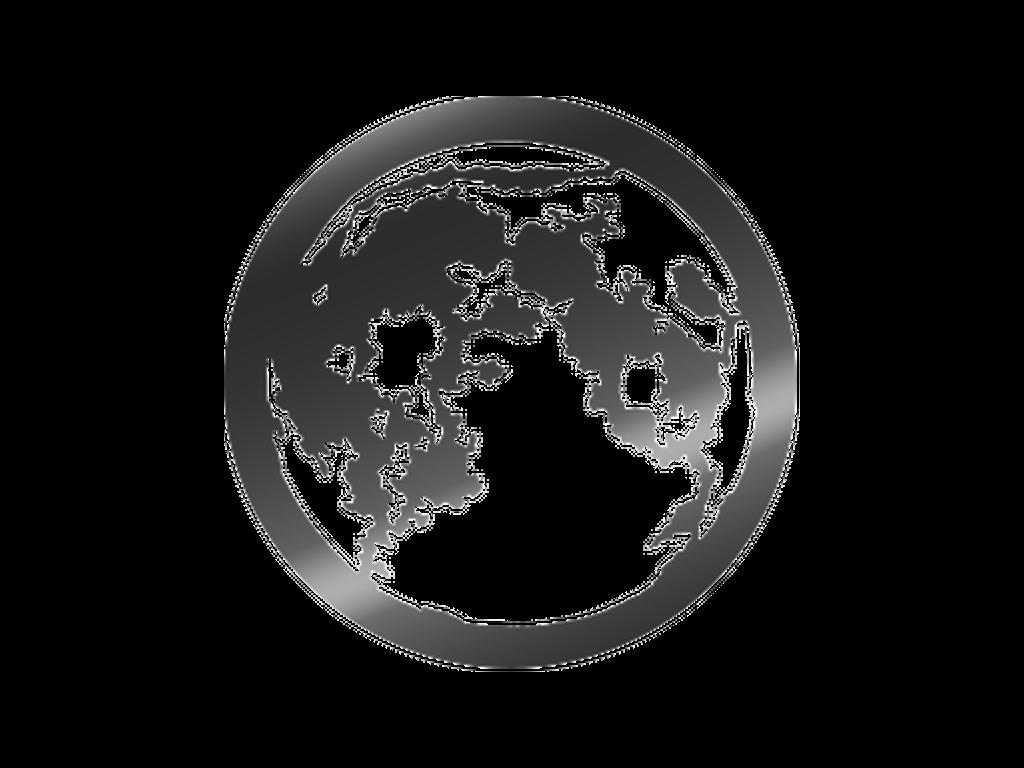 Moon - Metal gobo - E Size