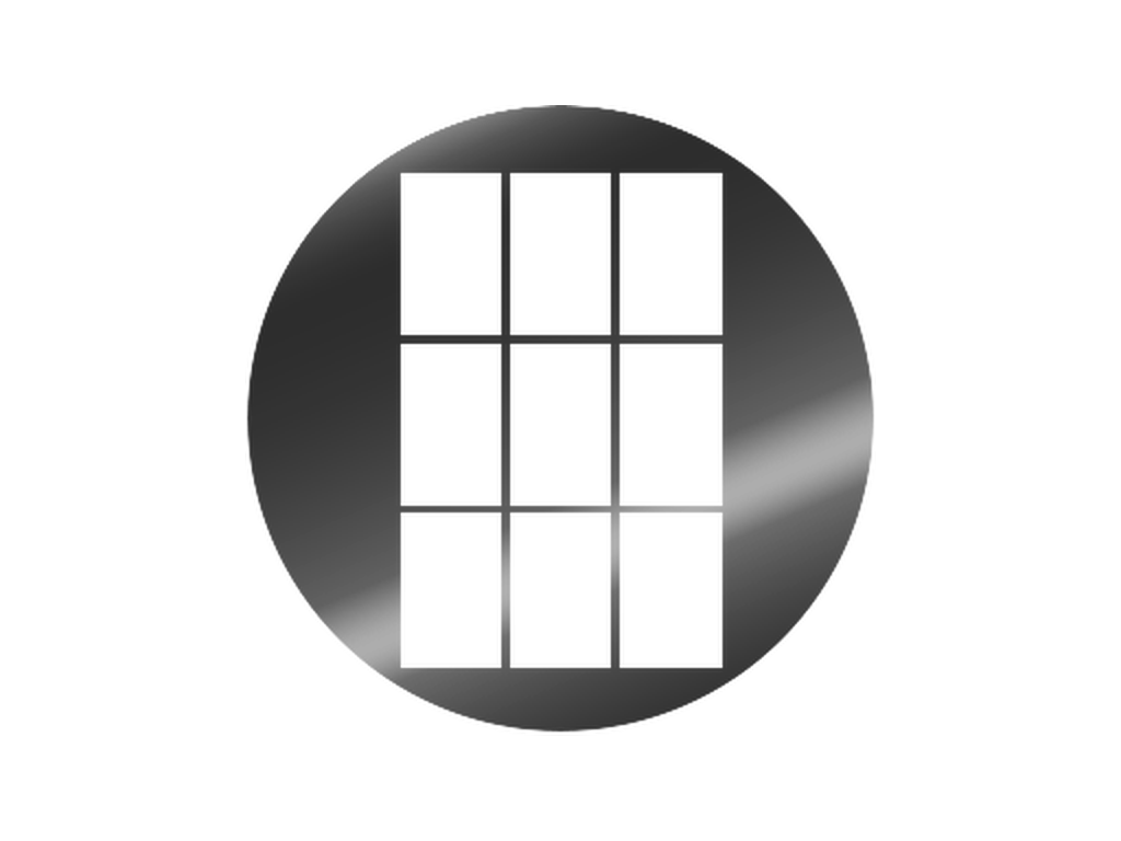Window - Metal gobo - E Size