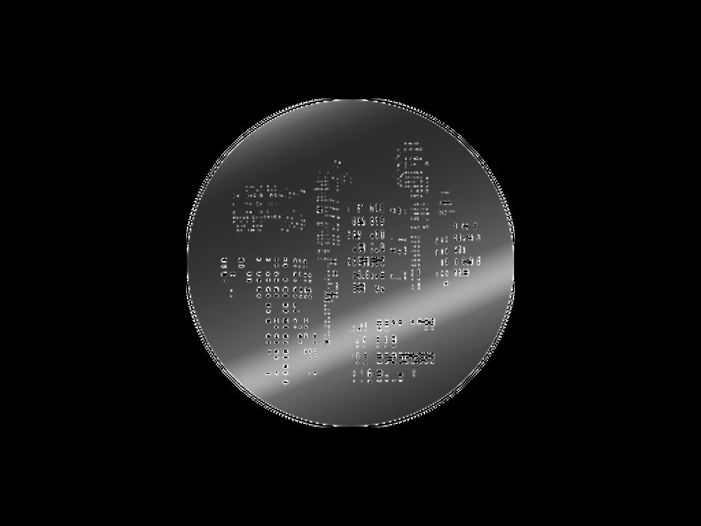 City - Metal gobo - E Size