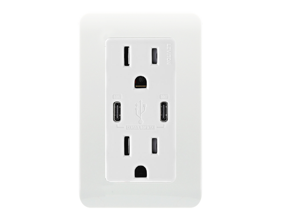North America power plug & USB Type C