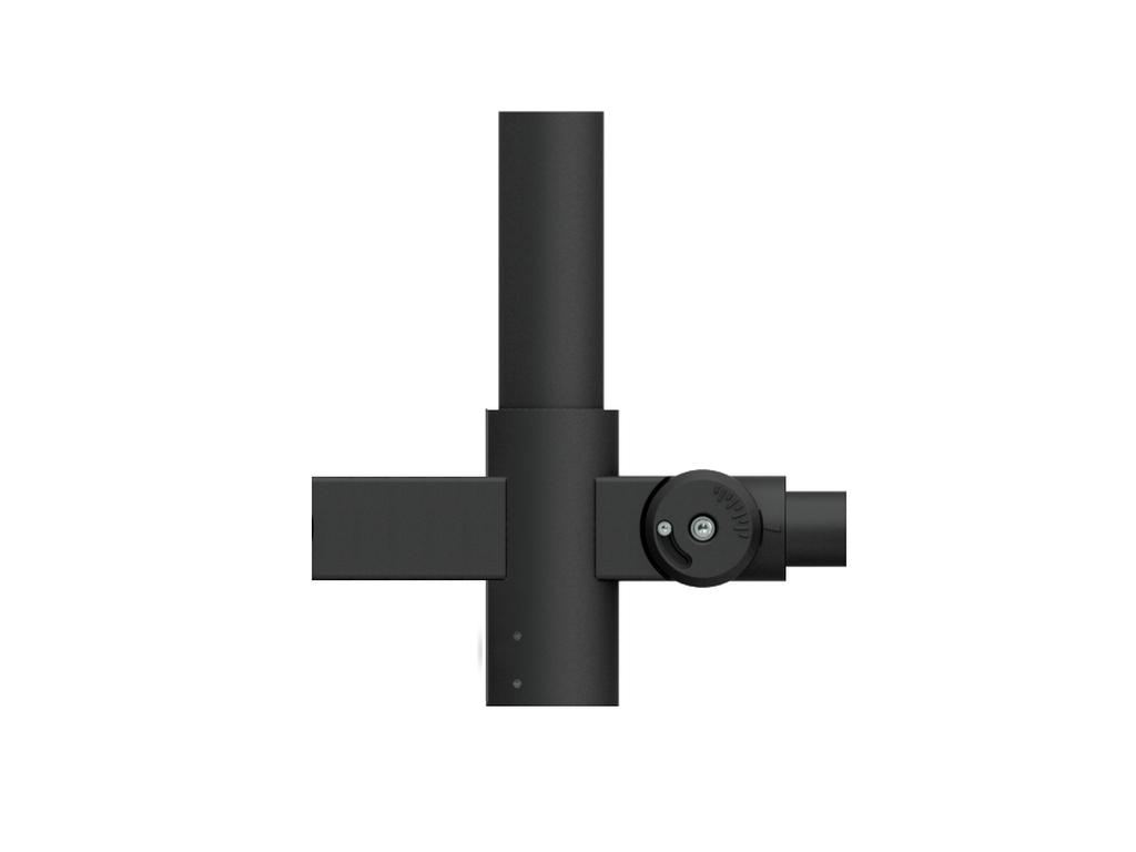 Single adjustable 60°
