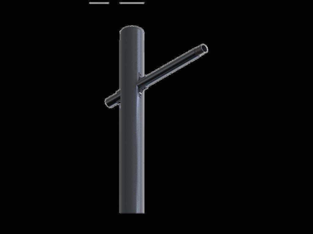 Luminaire mount arm
