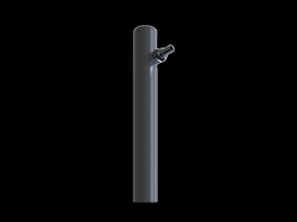 Adjustable luminaire mount arm