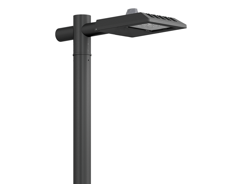 Street & area lighting with motion sensor
