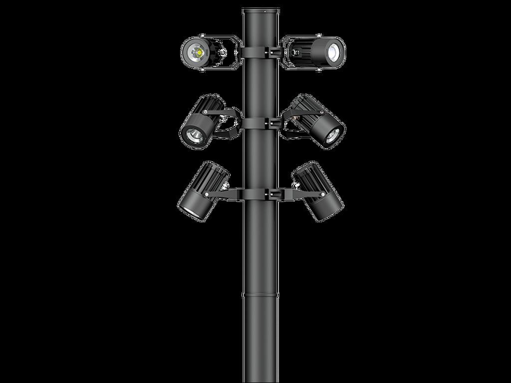 Projektorové reflektory a sloupové reflektory