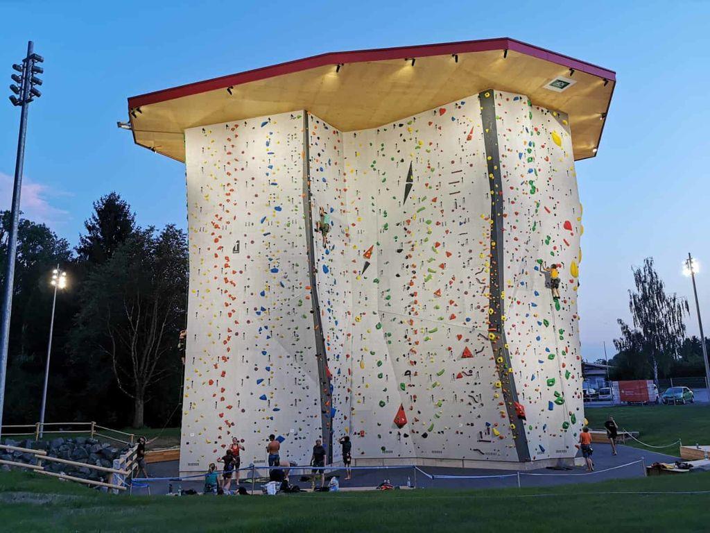 Sparkassen Arena DAV Climbing Center Illertissen