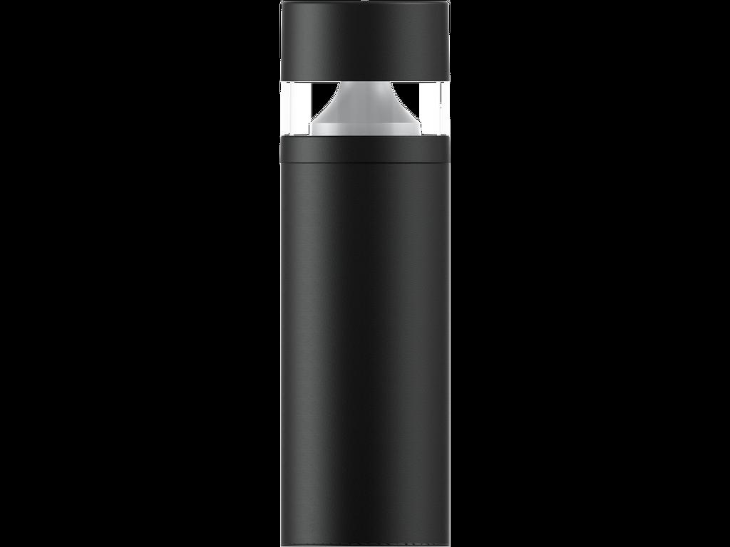 Bollards with microwave motion sensor