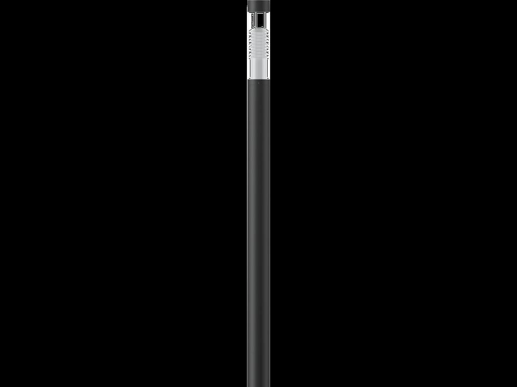 Light columns luminaires