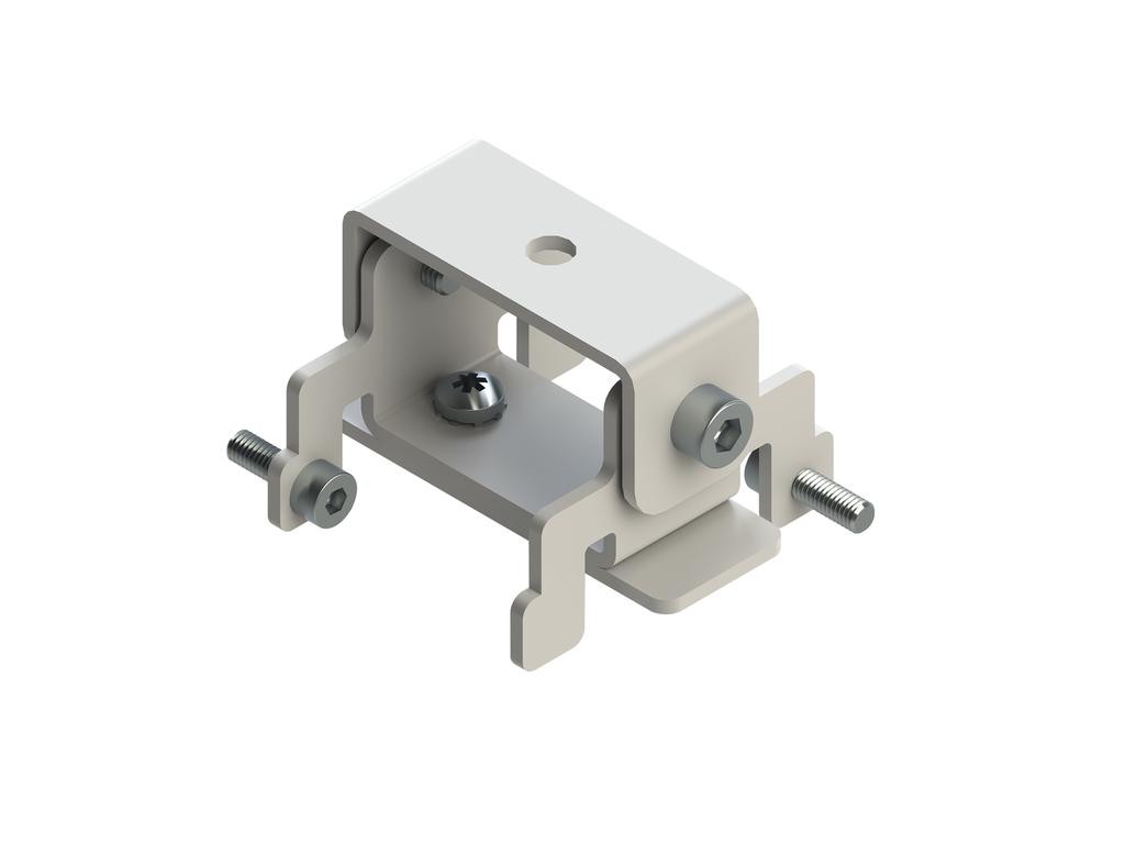 Ceiling-mounting bracket (40 mm profile)