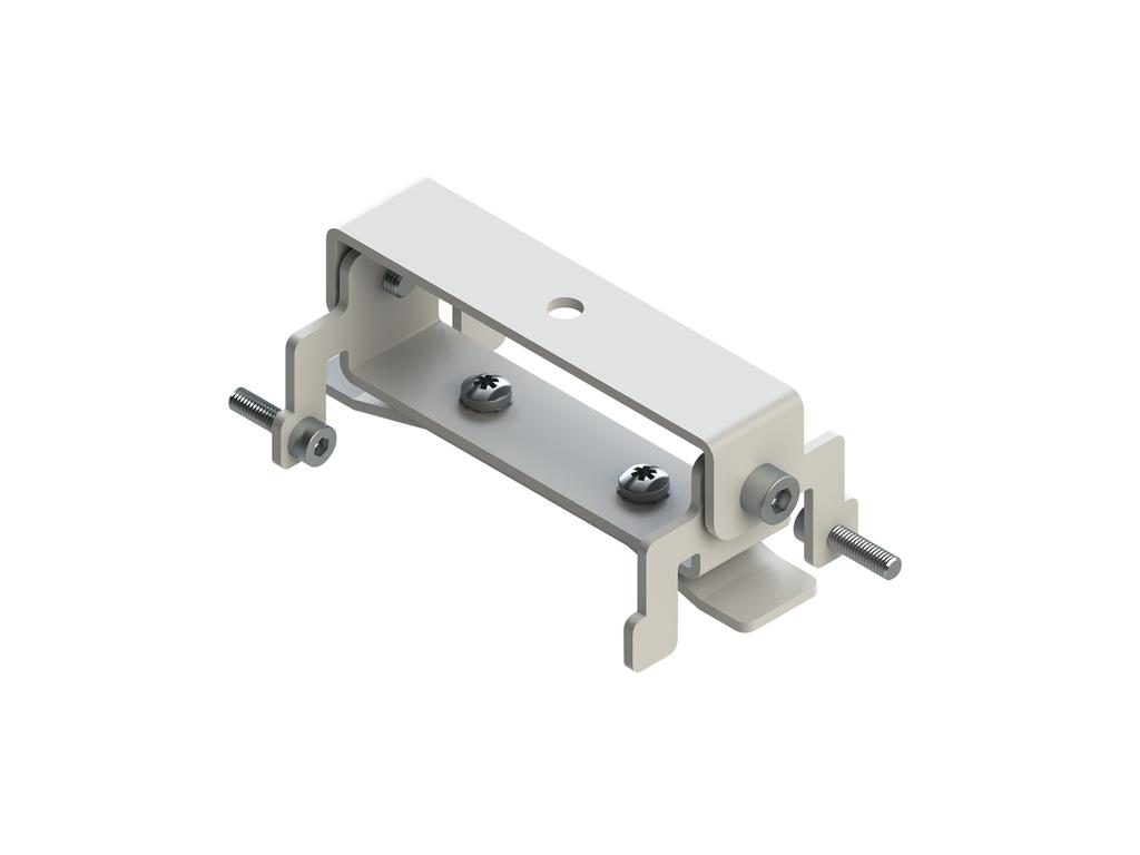 Ceiling-mounting bracket (60 mm profile)