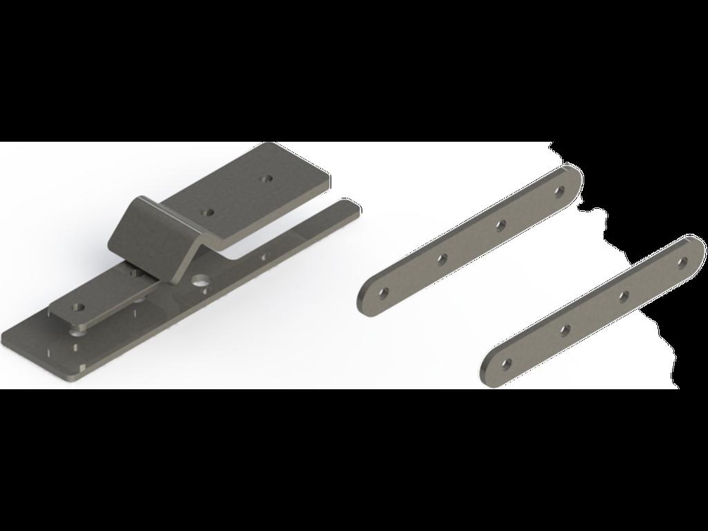 Continuous coupler bracket Coupleur continu Support