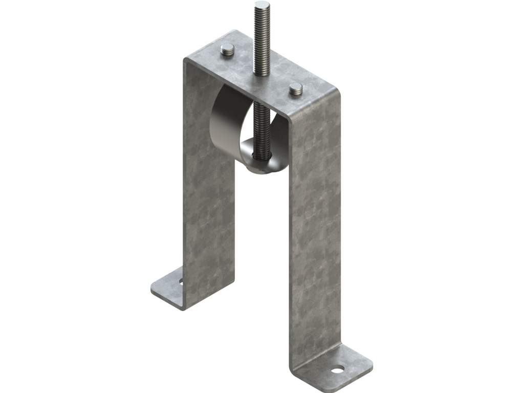 Trimless-recessed mounting bracket (40 mm Down profile)