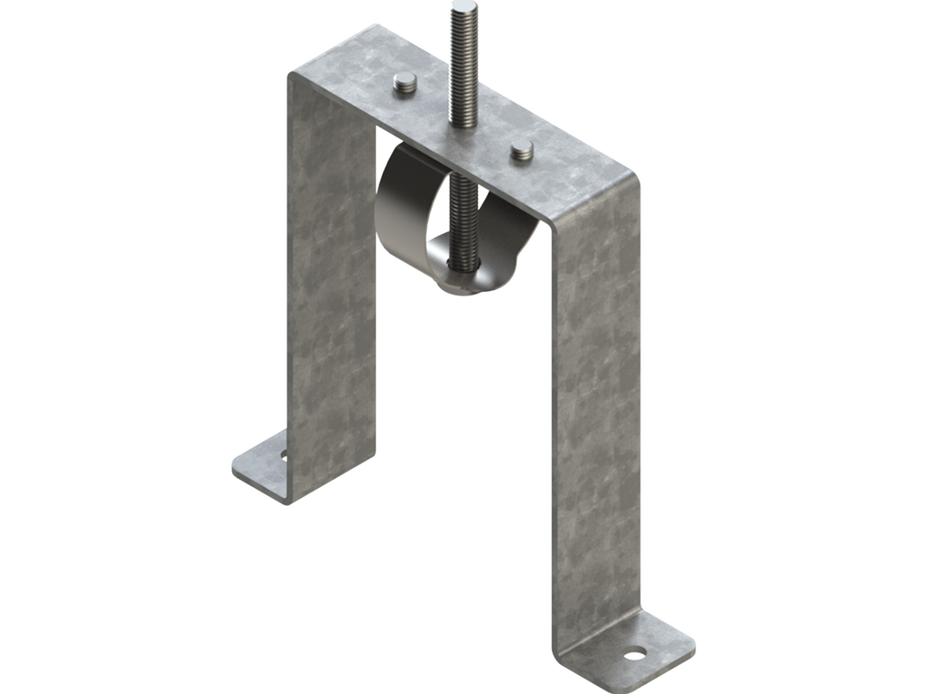 Trimless-recessed mounting bracket (60 mm Down profile)