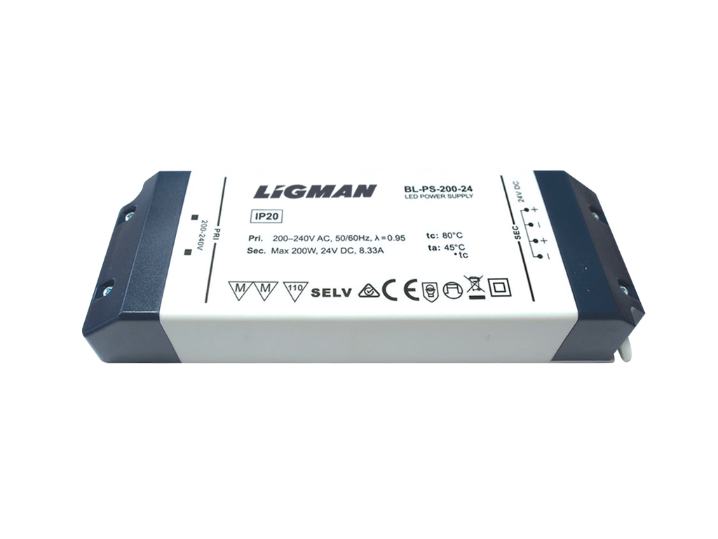 Driver PWM - 120 W - IP20 - Constant voltage - 24V