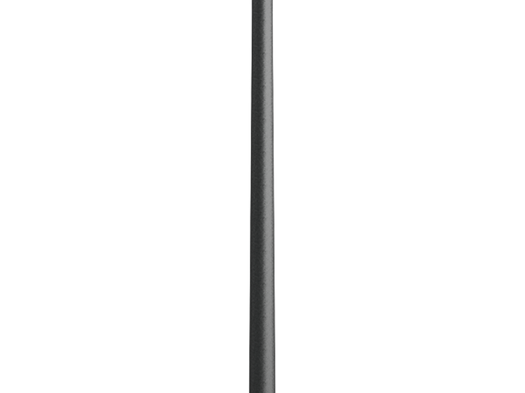 8 m - Cylindrical, tapered galvanised steel pole for ODESSA