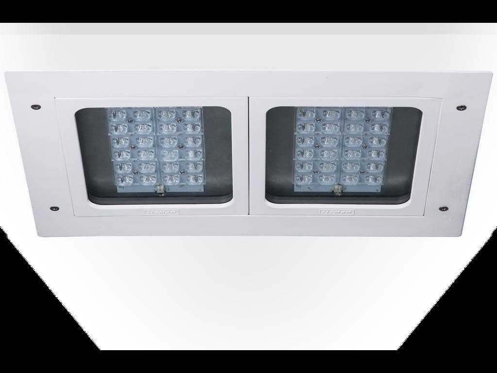 High bay luminaires