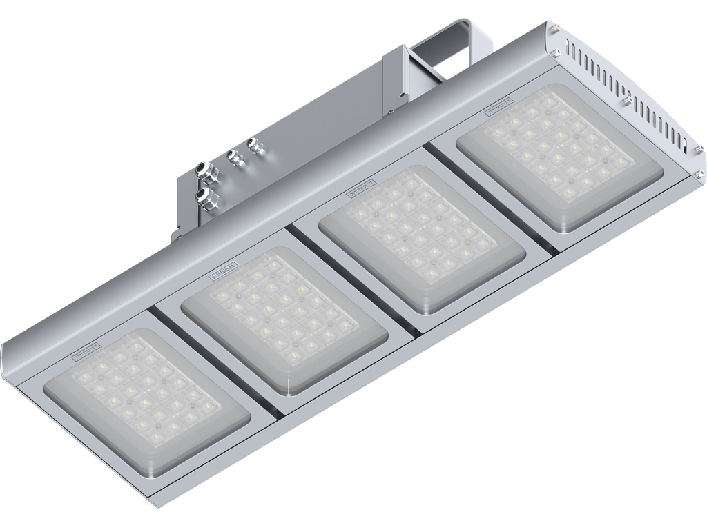 High bay luminaires
