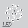 LIGMAN's high-power LEDs circular or square module