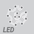 LIGMAN's high-power LEDs circular or square module