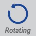 Rotating 355°