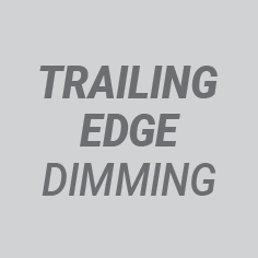Trailing edge dimming