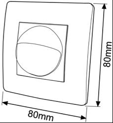 DETECTOR DE MOVIMIENTO DE MECANISMO 3 HILOS – DM CAM 001 - Dimensiones - Dinuy