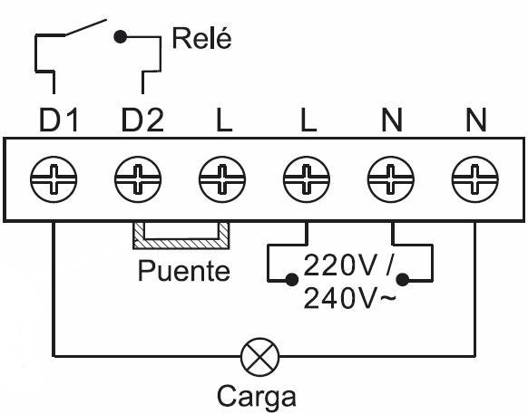 INTERRUPTOR CREPUSCULAR – IC FCL 209 - Esquema de instalación - Dinuy